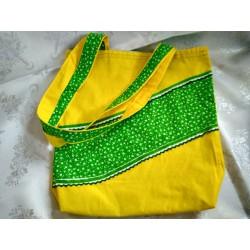 Látková taška žlutá