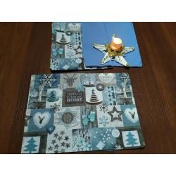 Prostírání vánoční patchwork