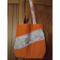 Látková taška oranžová s...