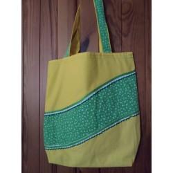 Látková taška žlutá s...