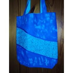 Látková taška modrá