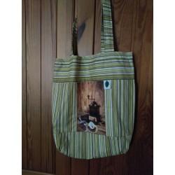 Látková nákupní taška...