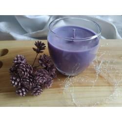 Vonná svíčka fialová měď...