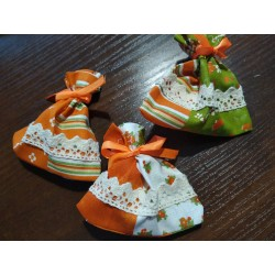 Pytlíček na bylinky - oranžový