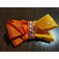 Dámská oranžová brož