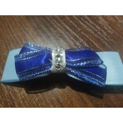 Dětská modrá brož