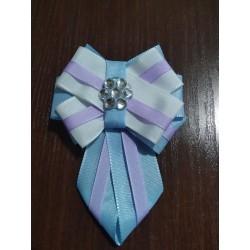 Kravatka fialková dámská