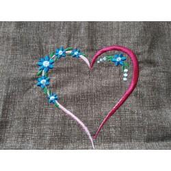 Výšivka - srdce
